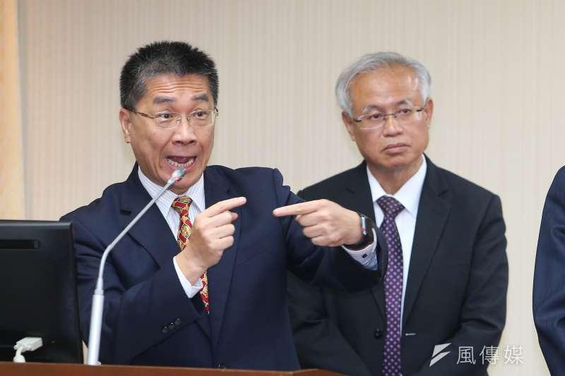 20191024-內政部長徐國勇24日於立院內政委員會備詢。(顏麟宇攝)