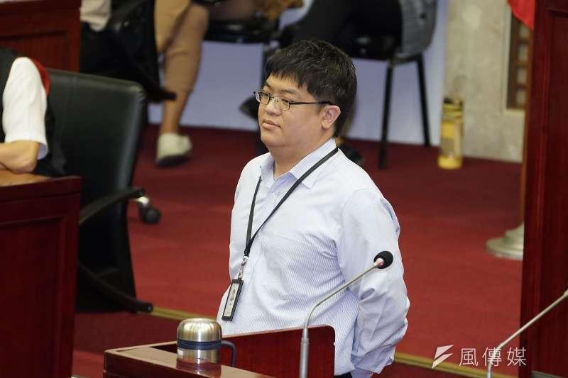 悠遊卡公司董事長特助邱昱凱將昇任總經理。(資料照片,盧逸峰攝)