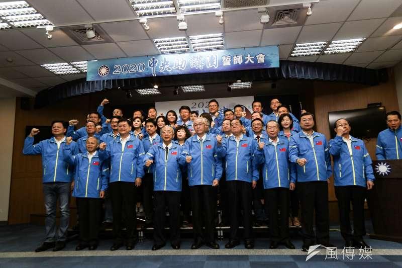 20191025-國民黨25日舉辦中央助講團誓師大會。(簡必丞攝)