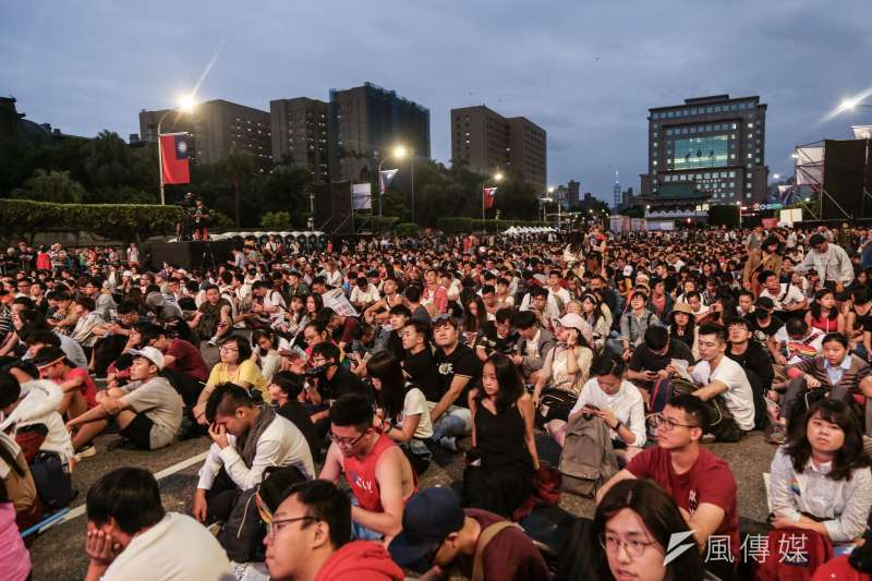 20191026-「同志好厝邊 Together, Make Taiwan Better」同志遊行晚會。(簡必丞攝)