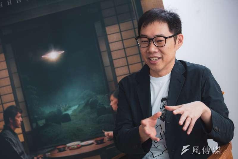 20191024-金馬專訪《夕霧花園》導演林書宇。(簡必丞攝)