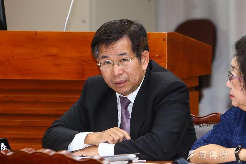 20191028-教育部長潘文忠28日出席教育文化委員會。(顏麟宇攝)