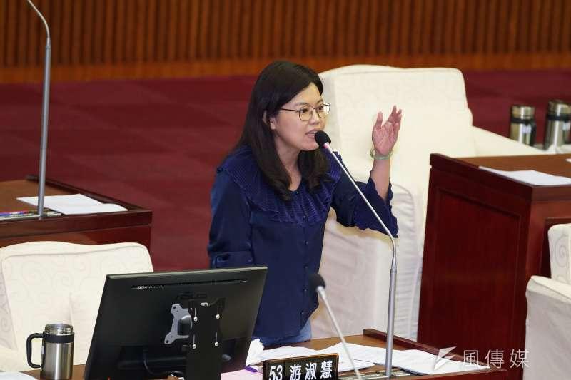 20191029-台北市議員游淑慧29日出席市政總質詢。(盧逸峰攝)