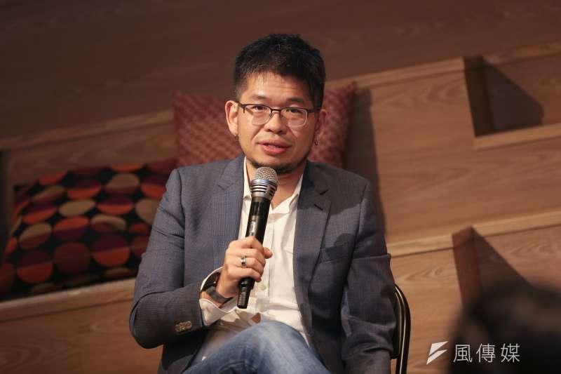20191029-YouTube共同創辦人陳士駿29日出席 《獨角獸與牠們的產地-如何用矽谷精神養出新創獨角獸?》座談會。(簡必丞攝)