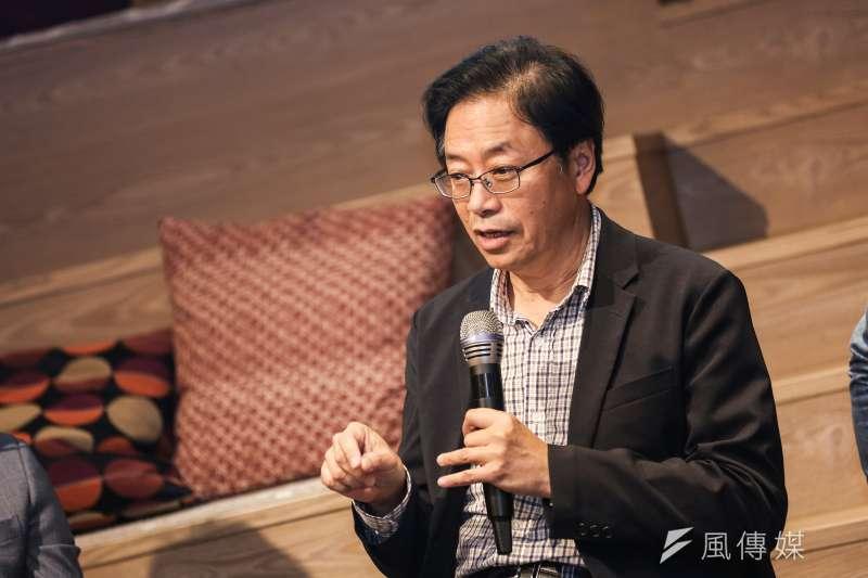 針對潛艦國造議題,國民黨副總統參選人張善政(見圖)14日表示台灣沒有設計能力,「只是拿國外設計圖來打造一個船殼」,稱蔡政府呼攏民眾。(資料照,簡必丞攝)