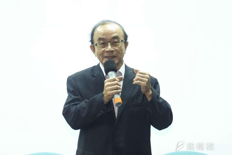 20191029-台灣維新黨2020年立委參選人公佈記者會,基隆市立委參選人陳志成。(陳品佑攝)