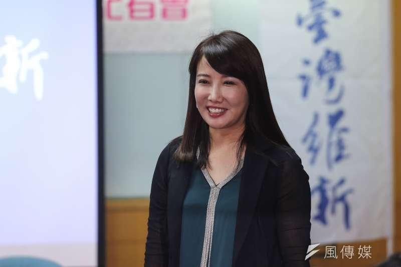 20191029-台灣維新黨2020年立委參選人公佈記者會,齡基金會副執行長蔡沁瑜到場。(陳品佑攝)