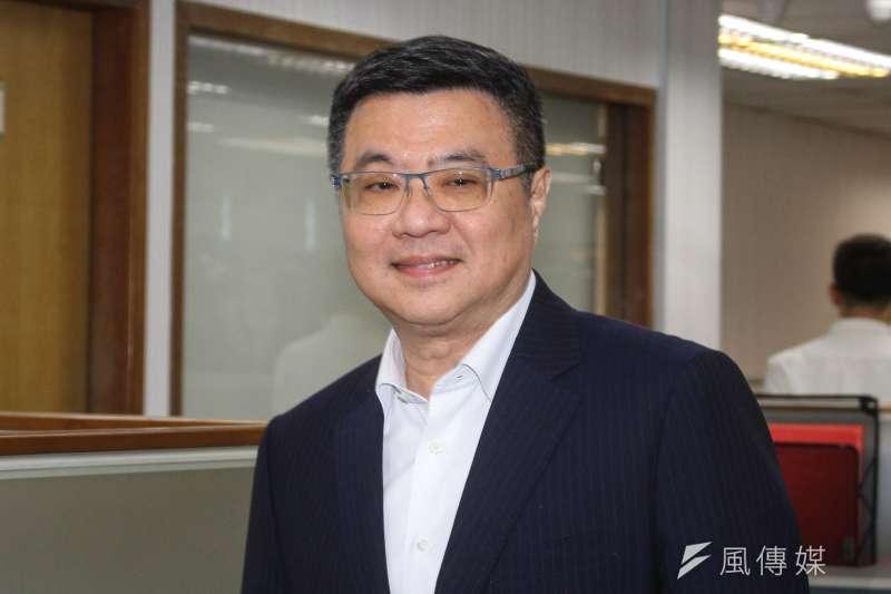 20191030-民進黨主席卓榮泰30日出席民進黨中常會。(蔡親傑攝)