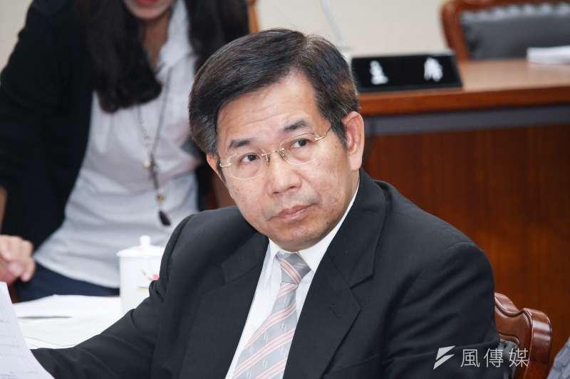 教育部長潘文忠出席立院教育委員會備詢。(蔡親傑攝)