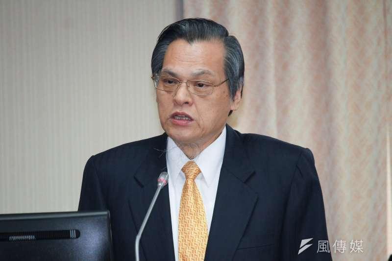 20191030-陸委會主委陳明通出席立院內政委員會列席報告。(蔡親傑攝)