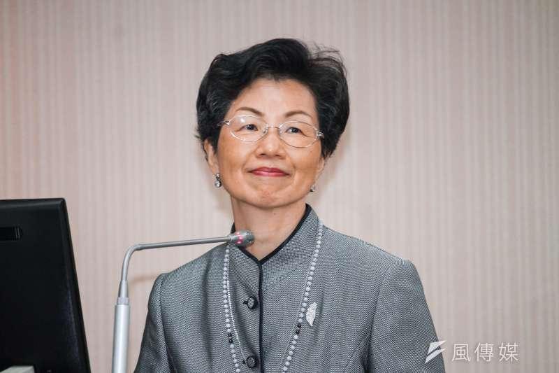 20191030-海基會董事長張小月出席立院內政委員會列席報告。(蔡親傑攝)