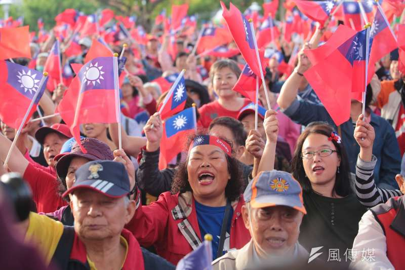 國民黨總統候選人韓國瑜競辦創意總監潘恆旭指出,21日的挺韓大遊行在主辦方沒有動員的情況下,估計將會有30萬人走上街頭力挺。(資料照,顏麟宇攝)