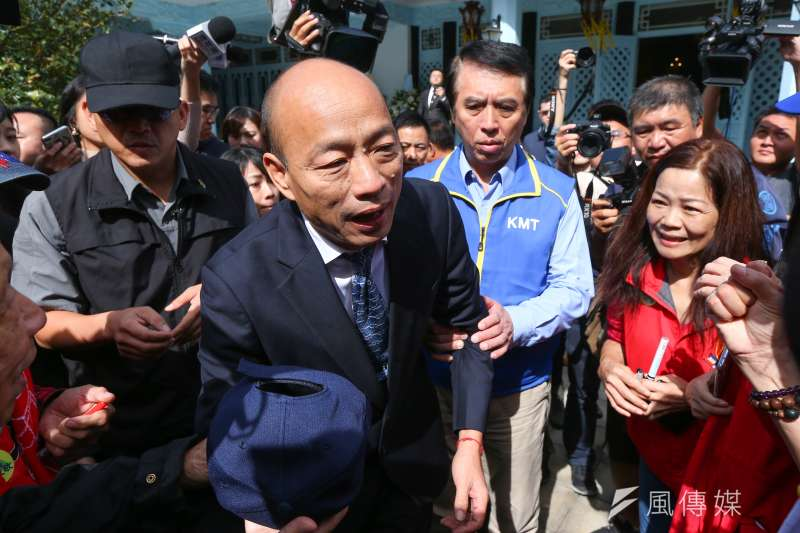 20191031-國民黨總統參選人韓國瑜31日至慈湖謁靈。(顏麟宇攝)