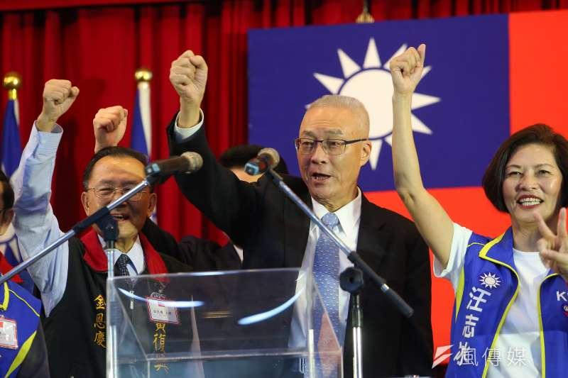 國民黨主席吳敦義安排的不分區名單曝光,引發爭議。(資料照片,顏麟宇攝)