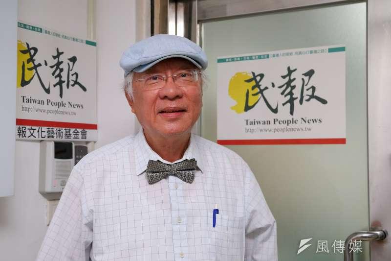 20191104-民報創辦人陳永興專訪。(顏麟宇攝)