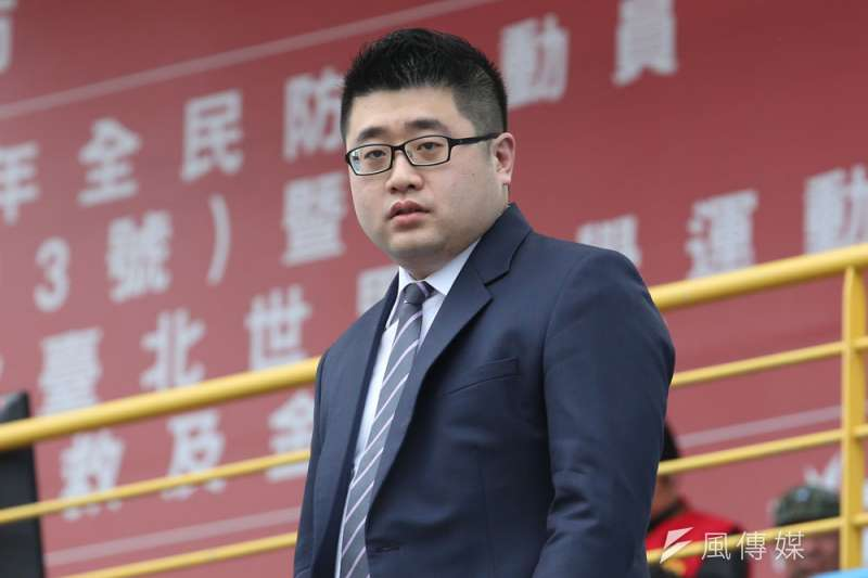 林鶴明重振蔡英文網路聲量,功不可沒。(郭晉瑋攝)