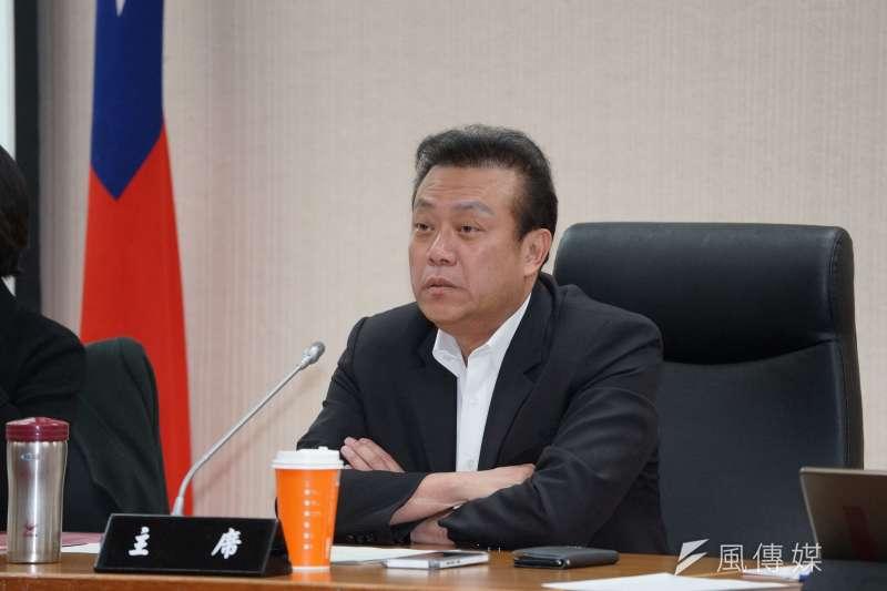 20191106-立委蘇震清6日主持經濟委員會。(盧逸峰攝)