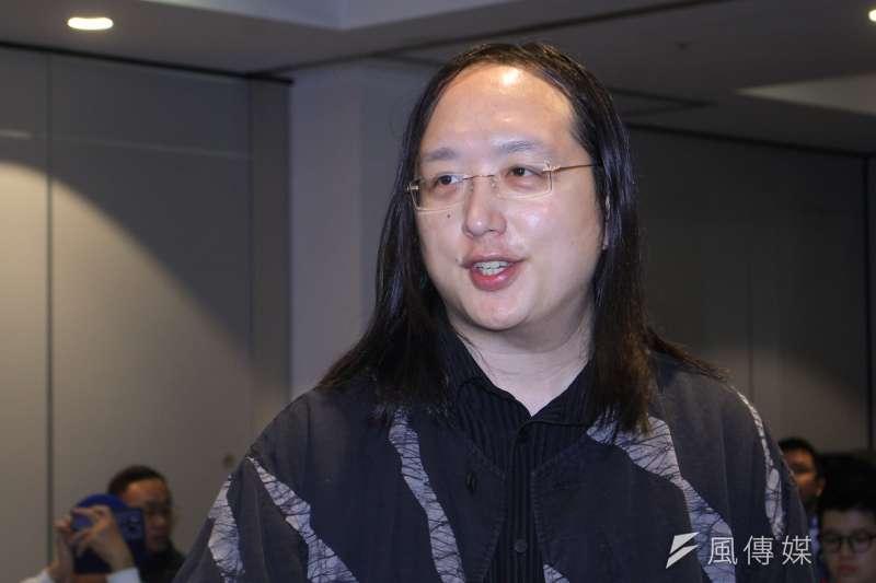 行政院政務委員唐鳳在防疫的表現上十分亮眼,甚至受到日本人羨慕。(蔡親傑攝)