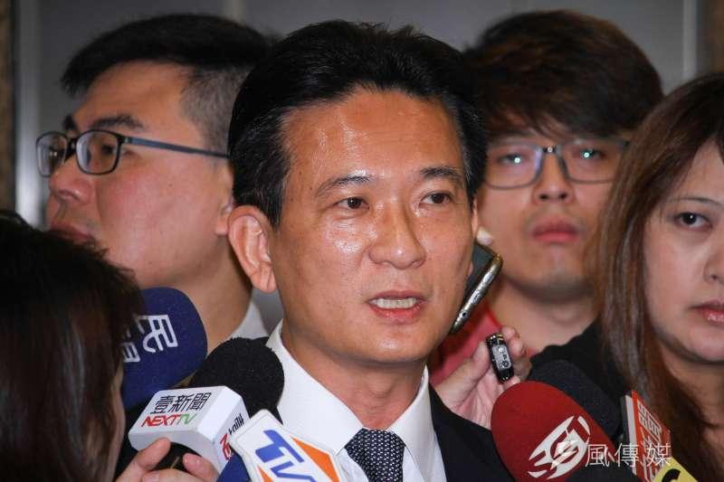 民進黨立委林俊憲(見圖)表示,將提案修改《全民健康保險法》,外界質疑是否會懲罰在海外工作的台灣人。(資料照,蔡親傑攝)