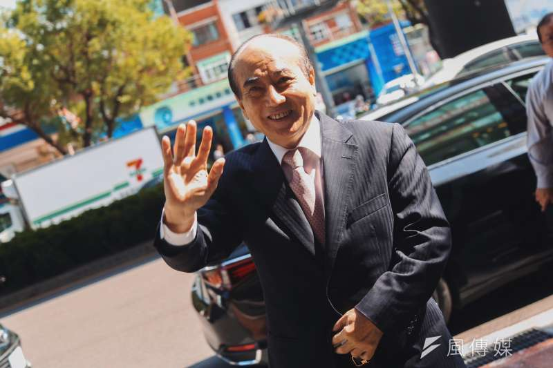 20191107-前立法院長王金平7日出席國民黨主席吳敦義與黨籍立委餐敘。(簡必丞攝)