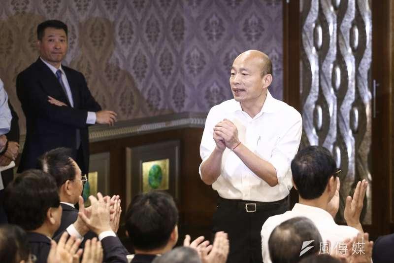 國民黨總統參選人韓國瑜多年前在南港沒買成的房子,成為選戰話題。(陳品佑攝)