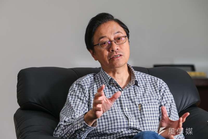 20191108-前行政院長張善政專訪。(顏麟宇攝)