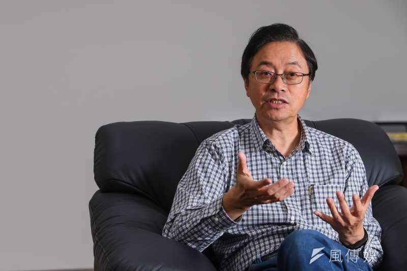 中華大學講座教授杜紫宸認為,張善政(見圖)若擔任副手,可能影響逾百萬「知識藍」、「經濟藍」選民「含淚投韓」,讓韓國瑜反敗為勝。(資料照,顏麟宇攝)