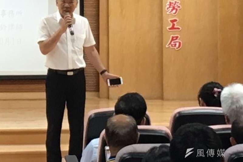 高雄市勞工局長王秋冬。(圖/徐炳文攝)