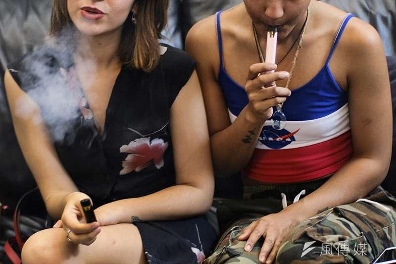 美國最新研究,電子煙對心血管功能的傷害可能超越傳統香菸。(AP)