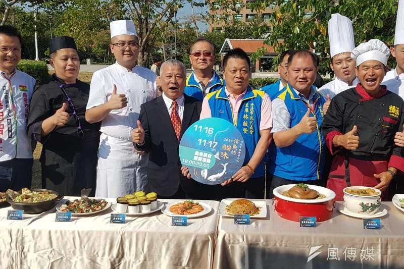 「2019竹北市烏魚好食節」將在本周末16、17日盛大登場。(圖/方詠騰攝)