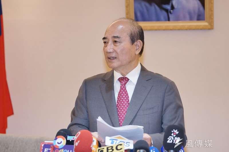 20191112-前立法院長王金平12日接受媒體訪問。(盧逸峰攝)