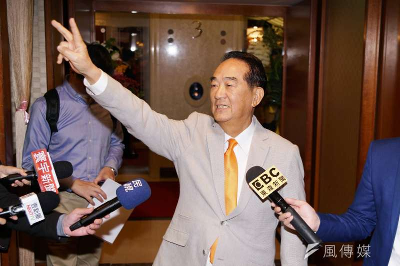 親民黨主席宋楚瑜宣布參選,外界關注大選可能變化。(資料照,盧逸峰攝)