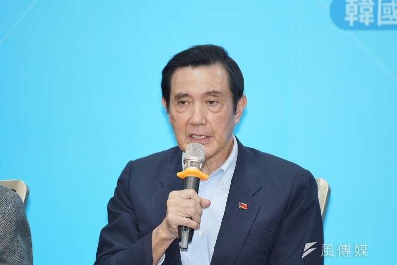 針對台海局勢,前總統馬英九表示,兩岸應該重啟對話才有意義。(資料照,盧逸峰攝)