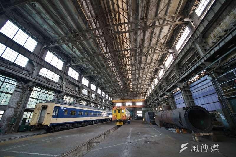 20191111-國家鐵道博物館籌備處主任洪致文專訪配圖,園區內的組立工廠將作為列車的展示舞台。(盧逸峰攝)