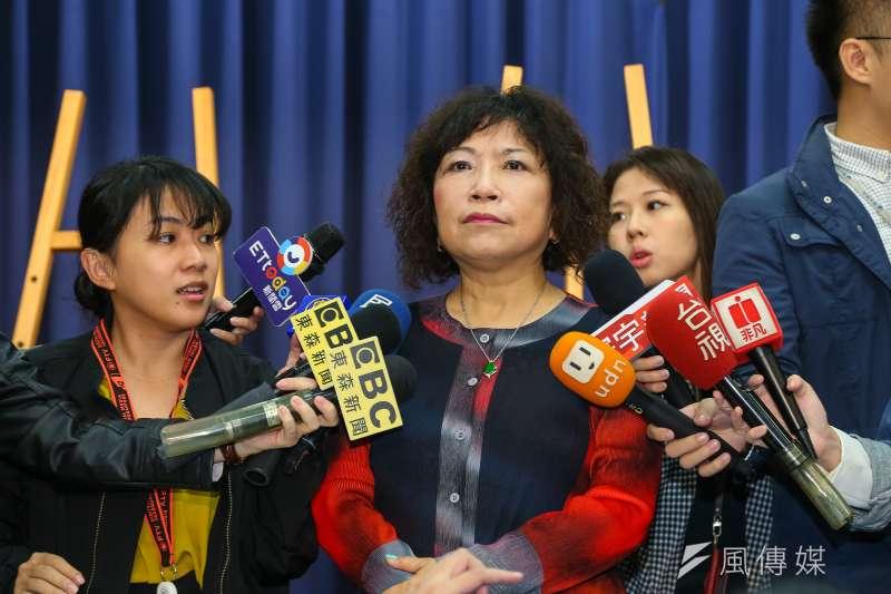 面對台師大政研所教授范世平的批評,前警大教授葉毓蘭(見圖)14日在臉書澄清,表示自己從未支持過「送中條例」,也未反對香港歌手何韻詩來台。(資料照,顏麟宇攝)