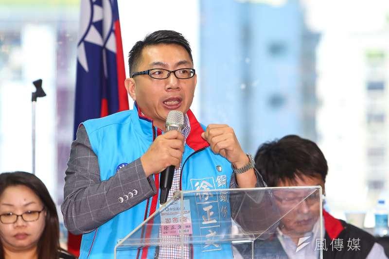 國民黨中央委員徐正文(見圖)接受《風傳媒》採訪時表示,自己沒有要選中常委。(資料照,顏麟宇攝)