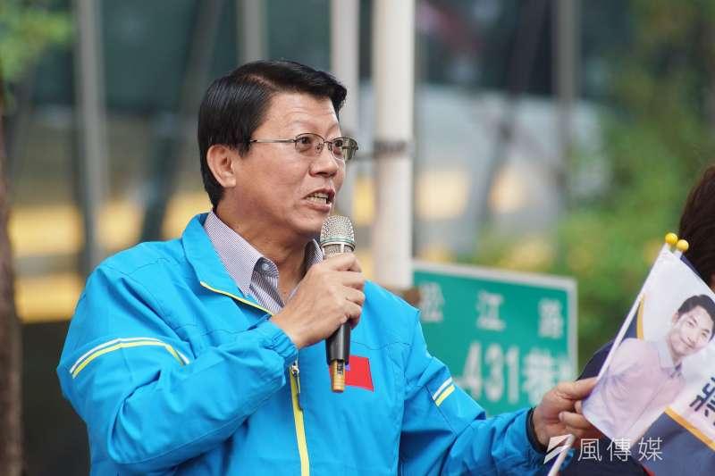 對於謝龍介表態參選台南市長,台南市議員蔡育輝直言謝龍介是國民黨在台南的最強人選,但要在綠營鐵票倉台南勝選機率「微乎其微」。(資料照,盧逸峰攝)
