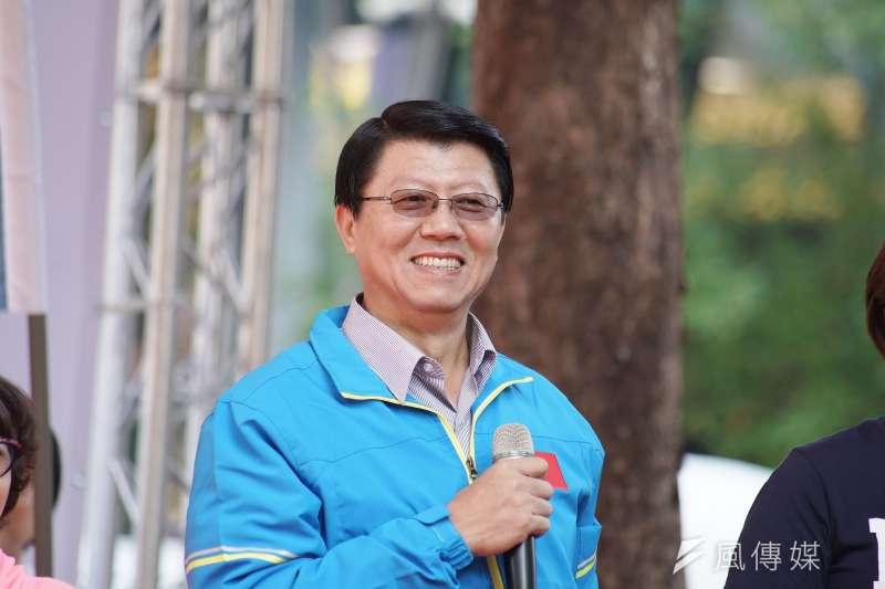 台南市議員謝龍介(見圖)曾在中天新聞台政論節目《新聞龍捲風》中,直指國家機器介入大選。國家通訊傳播委員會(NCC)指其未經查證,15日再對中天裁罰60萬元。(資料照,盧逸峰攝)