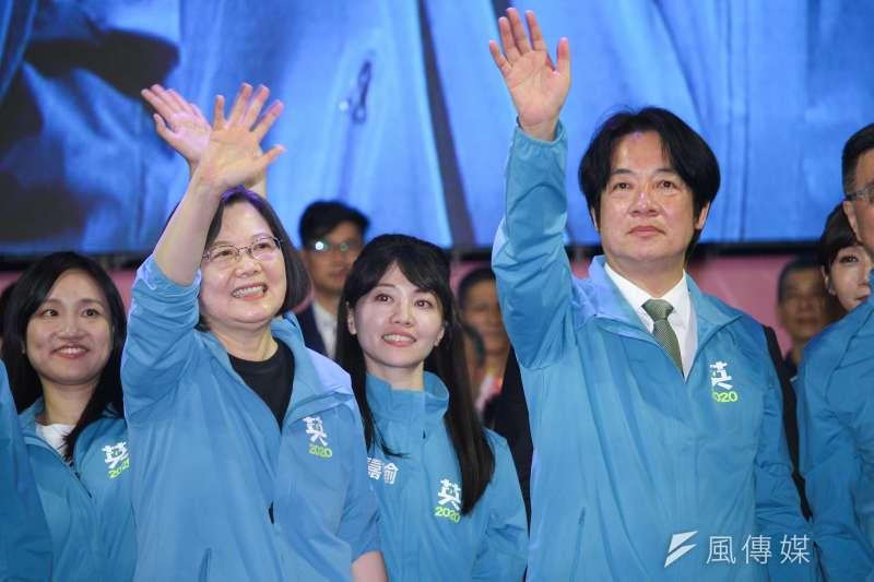 20191117-民進黨正副總統候選人蔡英文、賴清德全國競選總部成立。(蔡親傑攝)