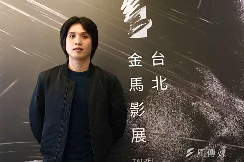 在17日金馬影展媒體餐敘中,《狂徒》導演洪子烜(見圖)受訪時表示,自己超想當電玩導演,只是在台灣較難有這樣的機會。(吳尚軒攝)