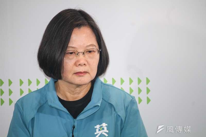 為了台灣人民未來的福祺,兩岸的安定,社會的和諧,政治的清明,只有下架蔡英文與其領導下的民進黨,台灣人民才不會跟著她與民進黨陪葬。(資料照,蔡親傑攝)