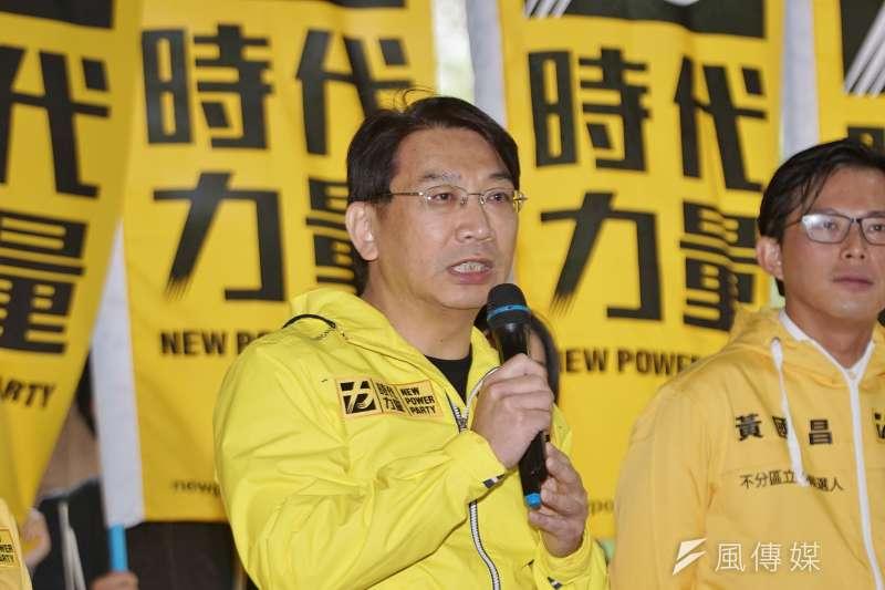 時代力量黨主席、前立法委員徐永明(見圖)涉嫌收賄,目前遭到羈押禁見。(資料照,盧逸峰攝)