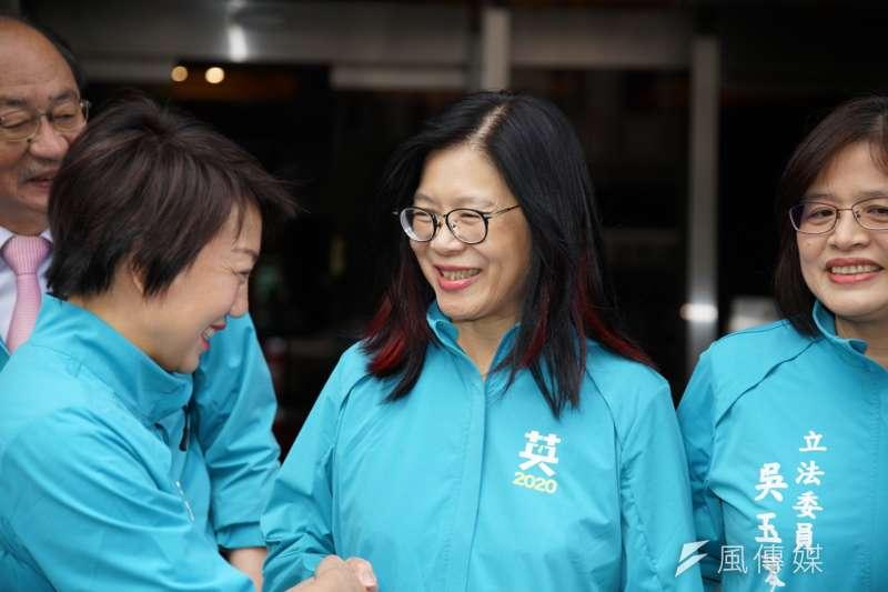 民主進步黨立法委員管碧玲(見圖)12月12日説了一句「高雄人對不起台灣」,不論事後再如何合理化,顯然並非無心之過。(資料照,盧逸峰攝)