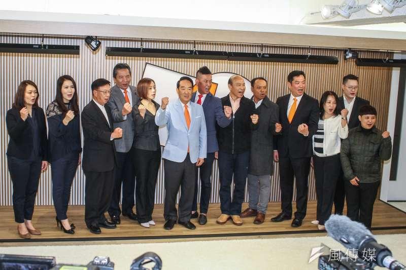 20191120-親民黨20日公布不分區立委名單記者會。(蔡親傑攝)