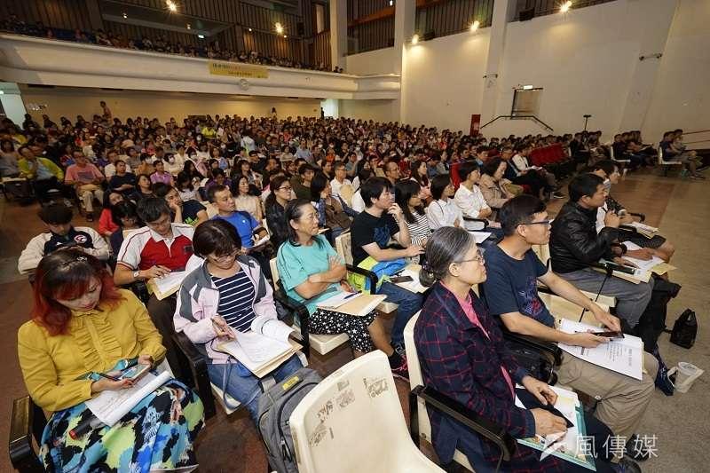 評議中心與台南市政府法制處舉辦金融消費者講座,參與人數超過五百人,反應熱烈。(攝影林維修)