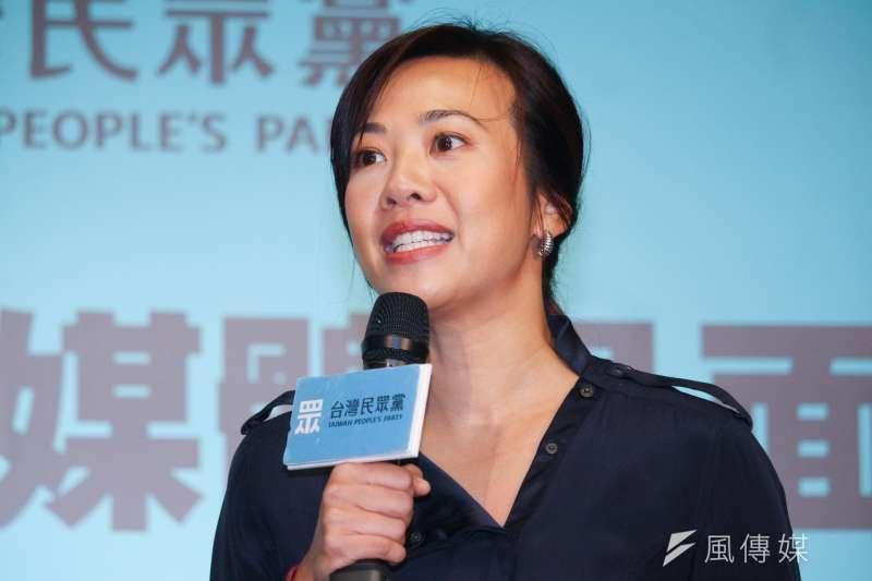 新光人壽副總經理吳欣盈(見圖)列為台灣民眾黨不分區立委第7名。(資料照,蔡親傑攝)