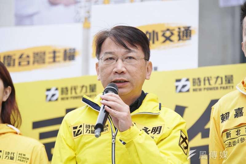 時代力量黨主席、前立法委員徐永明(見圖)涉嫌收賄,震驚全台。(資料照,盧逸峰攝)