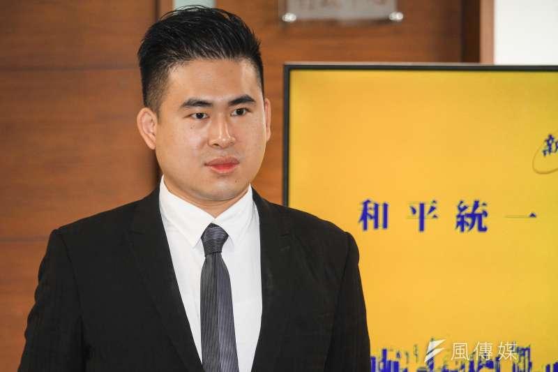 新黨發言人王炳忠(見圖)認為,網紅阿滴與知名設計師聶永真發起的行動根本沒有反擊世衛組織幹事長譚德塞對台灣的指控。(資料照,蔡親傑攝)