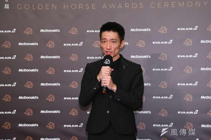 20191123-第56屆金馬獎頒獎典禮,徐漢強/返校 獲得最佳新導演。(顏麟宇攝)