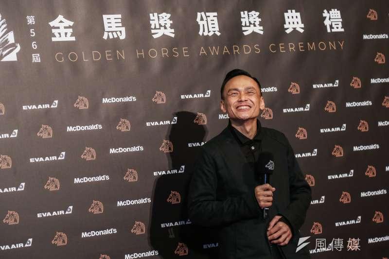 20191123-第56屆金馬獎頒獎典禮,最佳男主角,陳以文/陽光普照。(簡必丞攝)